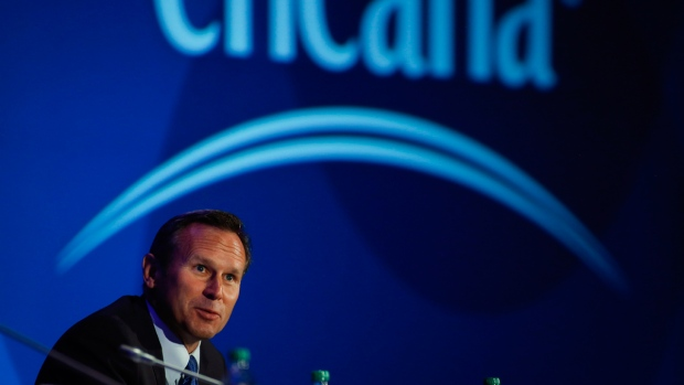 Encana CEO Doug Suttles in Calgary