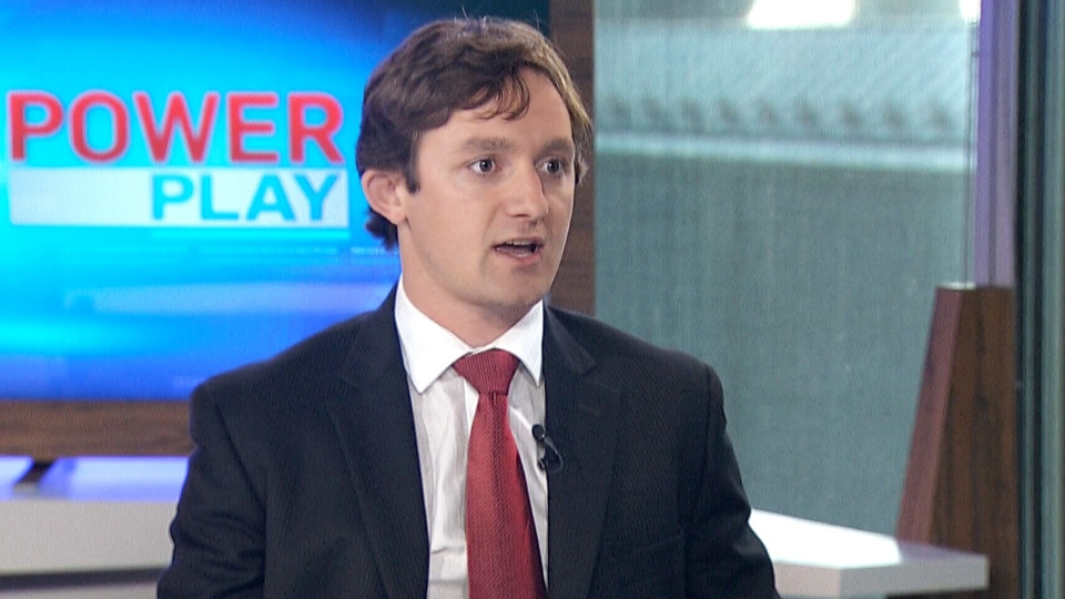 Jeff Bowes, of the Canadian Taxpayer Federation, appears on CTV's Power Play on Monday, Sept. 29, 2014.