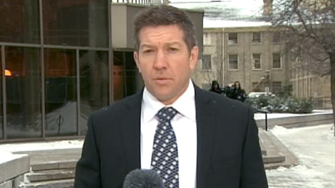 Sheldon Kennedy speaks to CTV News Channel about Graham James, Wednesday, Feb. 22, 2012.