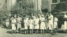 Residential school photo