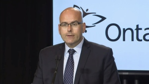 Ontario Transportation Minister Steven Del Duca is seen in this file photo.