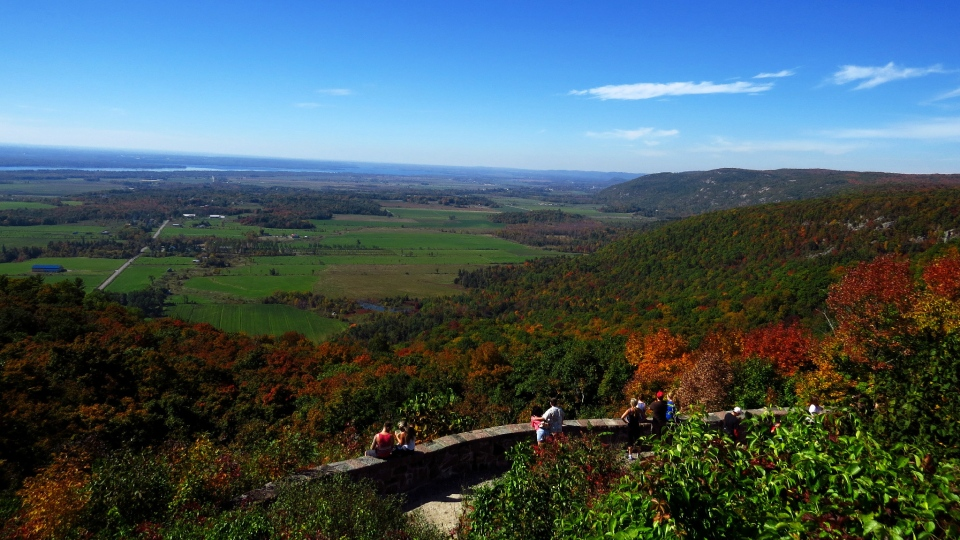 The Champlain Lookout in Gatineau Park