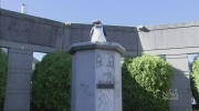 CTV Vancouver: Satan statue replaced by penguin