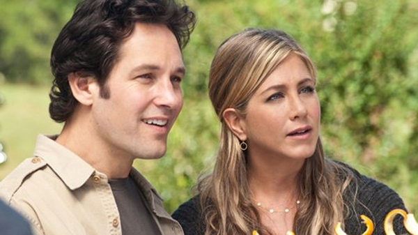 Jennifer Aniston and Paul Rudd in Universal Pictures' 'Wanderlust'