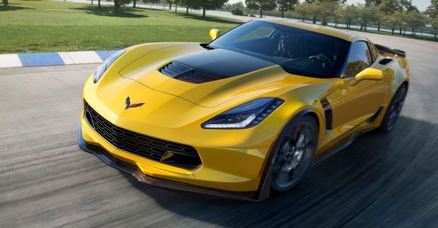 General Motors image of the 2015 Chevrolet Corvette Z06. (General Motors / AP)