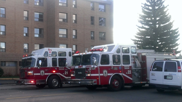 20th street apartment fire