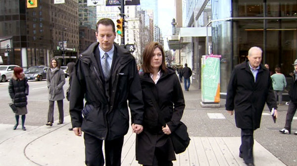 Susan Gastaldo and her husband are seen on Feb. 22, 2012. (CTV British Columbia)