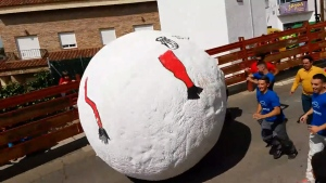 Extended: Running of the Giant Ball