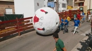 Canada AM: Running with a giant ball