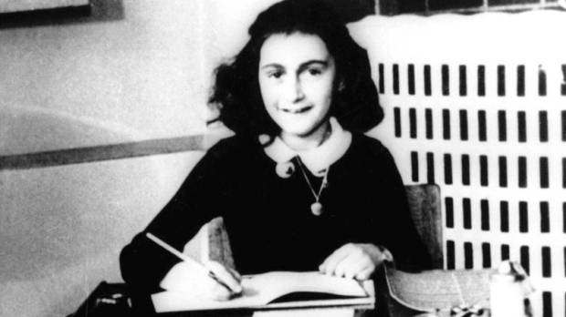 This is an undated file photo of Anne Frank, the young Jewish girl who, with her family, hid from the Nazis in Amsterdam, Netherlands, during World War II. (AP Photo)