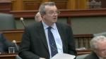 Ontario Progressive Conservative MPP Randy Hillier speaks at Queen's Park in Toronto, Ont.