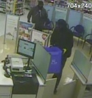 Two suspects wanted in connection to a break and enter at a Municipality of Thames Centre Shoppers Drug Mart can be seen in this undated photo. (Ontario Provincial Police)
