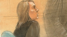 In this image Kelly Pflug-Back, of Guelph, Ont., is seen in a Toronto court on Friday, Feb. 24, 2012.