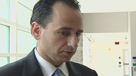 New OC Transpo boss John Manconi said his goal is to provide transit riders with first class service at a press conference on Friday, February 24, 2012.