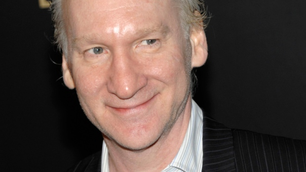 Bill Maher, host of the HBO show, 'Real Time with Bill Maher,' arrives at the The Hollywood Reporter Academy Awards Pre-Party in Los Angeles, Feb. 24, 2011. (AP / Dan Steinberg)