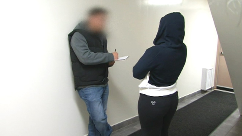 Using undercover officers who make contact with prostitutes, York Regional Police try to persuade the young women to turn in their pimps. But most women in the sex trade are afraid of police and don't trust them.