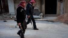 Syria, rebels, civilians hurt, UN