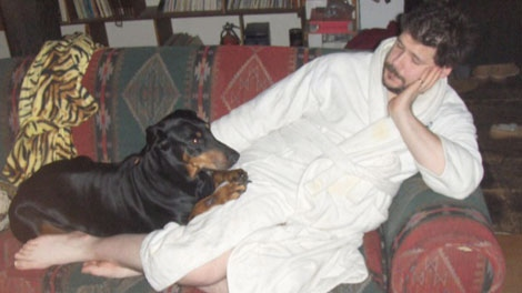 Brian Cutteridge, 38, of Vancouver has been charged with bestiality. Feb. 25, 2012. (CTV)