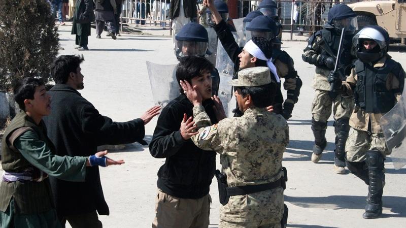 U.S., Afghanistan, military, gunmen, soldiers, Qur'an