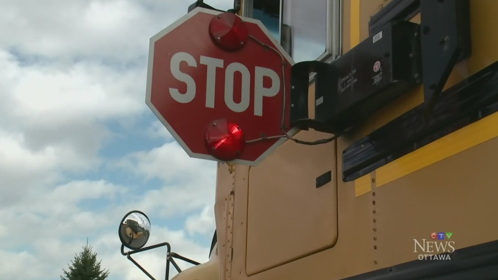 Minor injuries after two school buses collide