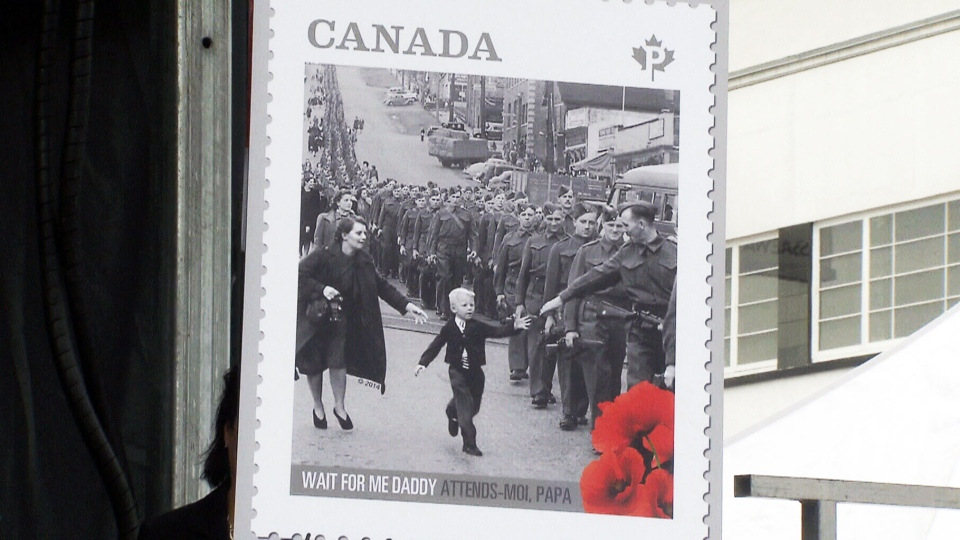 A commemorative stamp and two dollar coin were also unveiled at the ceremony.