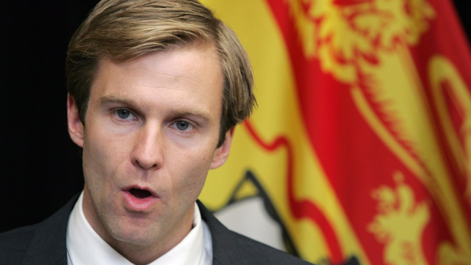 New Brunswick premier designate Brian Gallant in Fredericton, on Sept.24, 2014. (THE CANADIAN PRESS / James West)