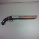 A gun seized from a Queens Avenue home on Friday, Oct. 3, 2014 is seen in this image released by the London Police Service.