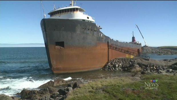 CTV Atlantic: A close look at MV Miner wreck