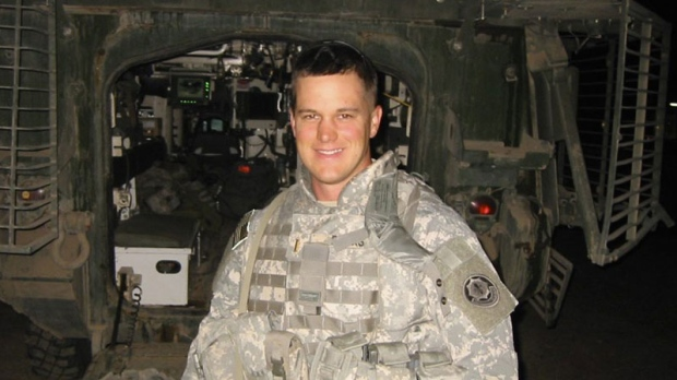 In this undated family photo 2nd. Lt. Peter Burks poses for a photograph in Iraq. Burks, 26, died Nov. 14, 2007 when his vehicle was hit just outside the Green Zone in Baghdad. As of Tuesday, Nov. 20, 2007, at least 3,873 members of the U.S. military have died since the beginning of the Iraq war in March 2003, according to an Associated Press count. (AP Photo/The Dallas Morning News/Burks Family Photo) **