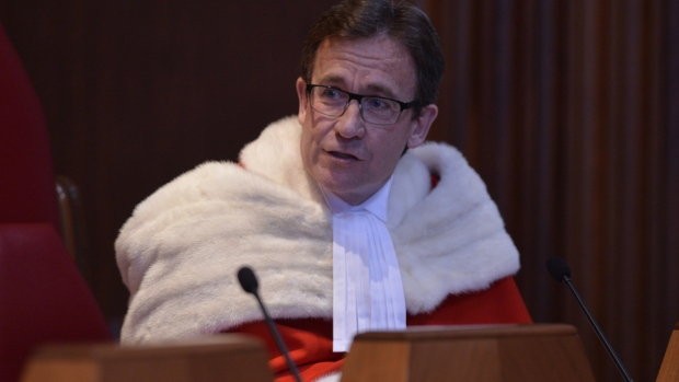 Supreme Court of Canada Justice Clement Gascon