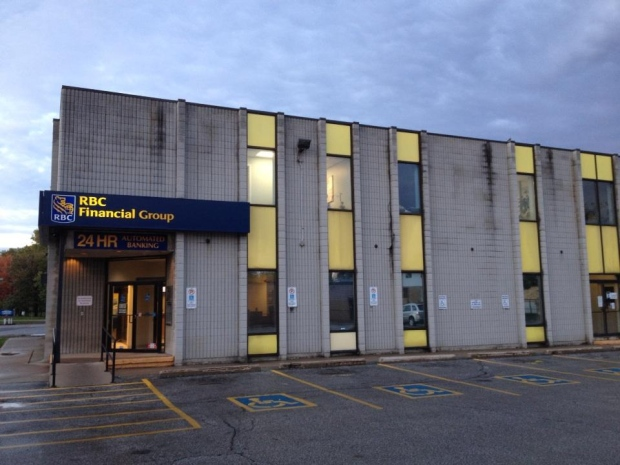 An Armed Robbery Is Under Investigation At The Royal Bank Branch In Corunna Ont On Monday Oct 6 2014 Sean Irvine CTV London