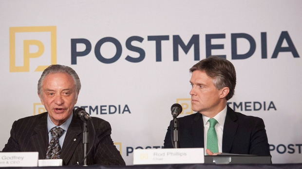 Postmedia, Paul Godfrey, Rod Phillips