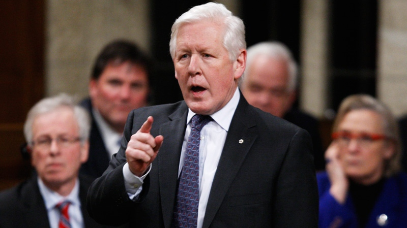 Interim Liberal Leader Bob Rae rises in the House of Commons on Parliament Hill in Ottawa, Tuesday Feb. 28, 2012. (Adrian Wyld / THE CANADIAN PRESS)