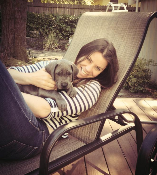Brittany Maynard is shown in this photo taken from her death-with-dignity campaign website. (www.TheBrittanyFund.org)