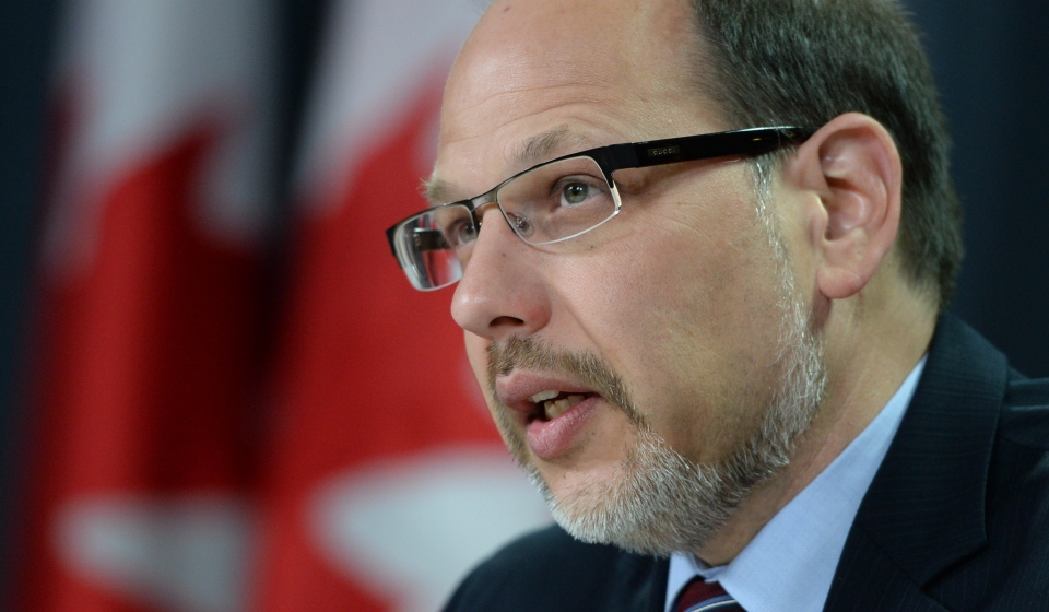 Howard Sapers, Correctional Investigator of Canada holds a news conference at the National Press Theatre in Ottawa on Wednesday, October 8, 2014. (Sean Kilpatrick / THE CANADIAN PRESS)
