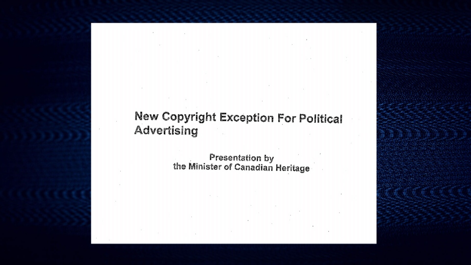 The government is planning to change Canada's copyright rules so that political parties can use content from media organizations, for free, in their political ads.