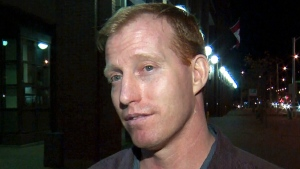 Travis Vader speaks to CTV in Edmonton, after his release from jail, Wednesday, Oct. 8, 2014.