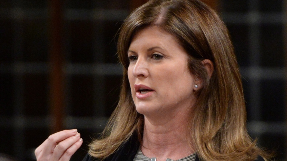 Health Minister Rona Ambrose responds to a question during question period in the House of Commons on Parliament Hill in Ottawa on Thursday, Oct. 9, 2014. (Sean Kilpatrick / THE CANADIAN PRESS)