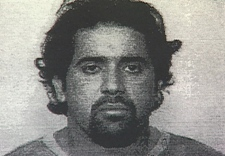 A drawing of Paul Cheema, who police say was active in gang activities right up until his extradition. September 10, 2008.
