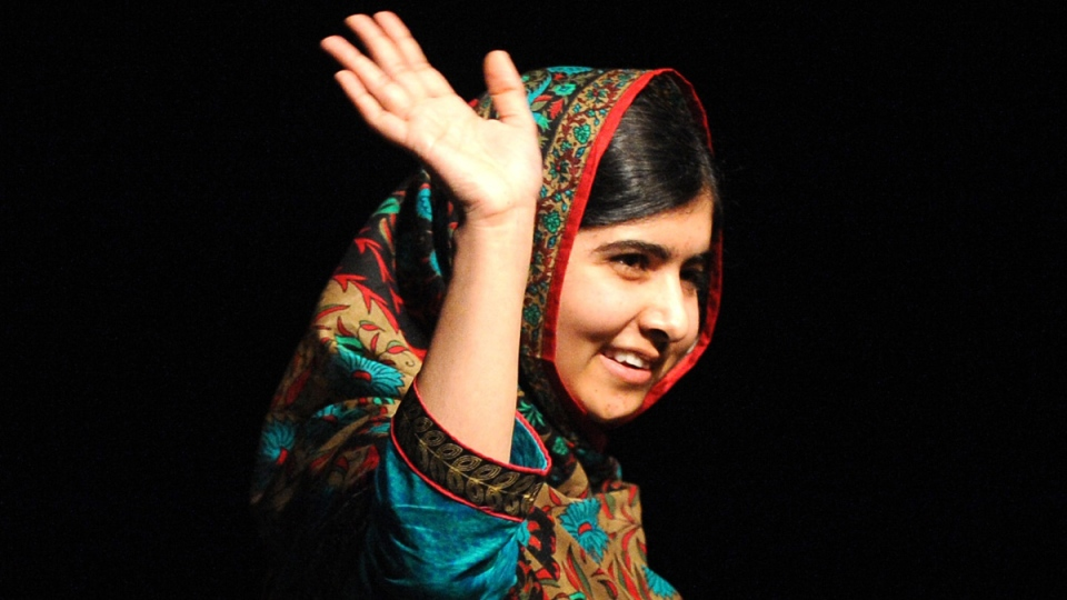 Malala Yousafzai in Birmingham, England, on Oct. 10, 2014. (AP / Rui Vieira)