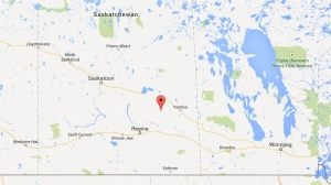 Ituna, Saskatchewan is a small town north of Regina (Google Maps)