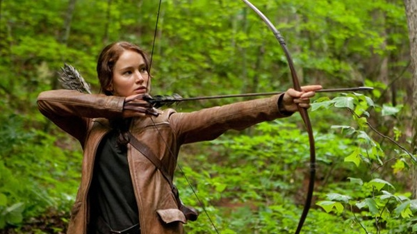 Jennifer Lawrence in Lionsgate's 'The Hunger Games'