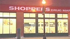 The Shoppers Drug Mart on 17 Ave and 8 St S.W. was robbed of Oxycontin.