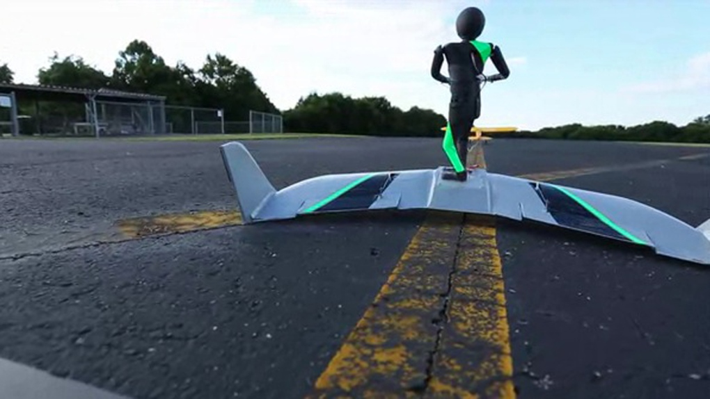 New extreme sport of WingBoarding