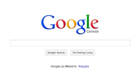View of Google's homepage Thursday, March 1, 2012. Google's contentious new privacy policy officially takes effect Thursday, despite some objections from Canada's privacy commissioner and others around the world.