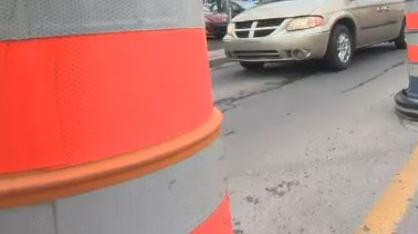 Montreal construction cones generic