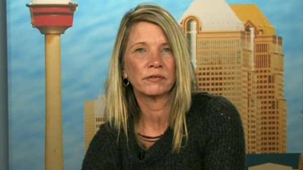 Linda Gardiner, whose son Chad took his life while battling an OxyContin addiction, appears on Canada AM on Thursday, March 1, 2012.