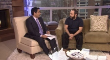 "Joel Heath talks about his award-winning documentary, ""People of a Feather."" March 1, 2012. (CTV)"