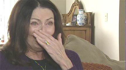 Sandie Tomlinson became emotional when she learned that the drug she needs to breath will be covered by health care.