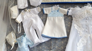 'Angel gowns' are given to families to help them grieve the death of a newborn.